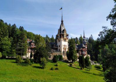 Reise nach Rumänien_peles schloss